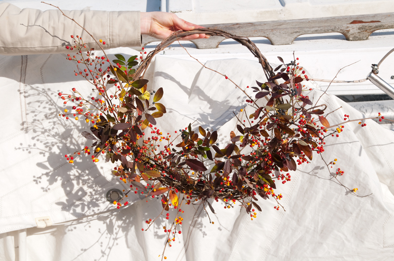 Harvest Wreath DIY