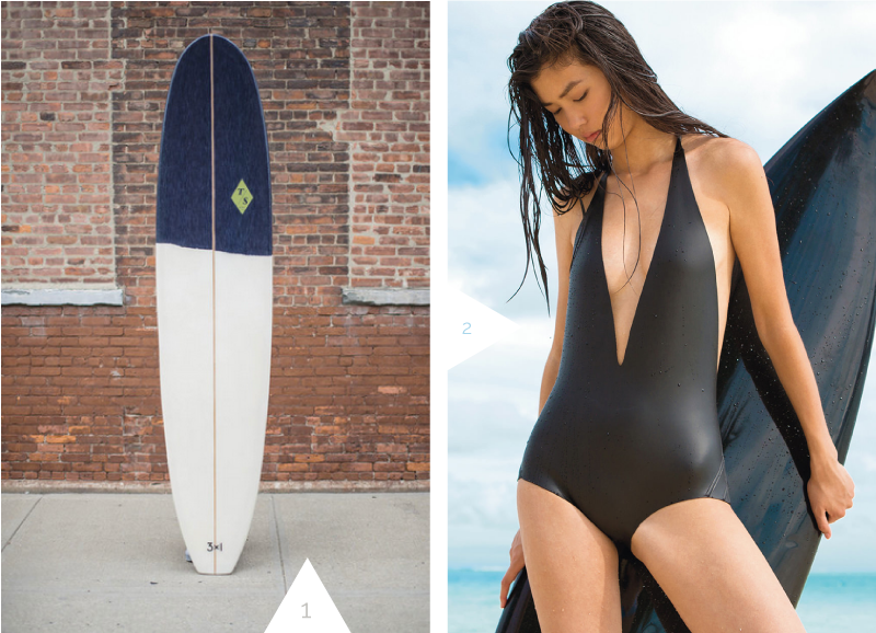 Surfing + Swimming In Style