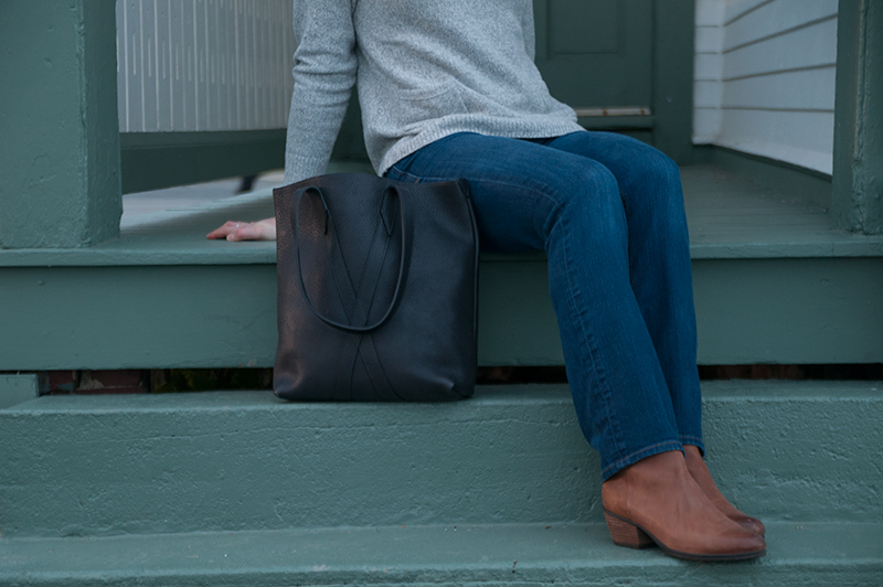 Navy Infinity Tote